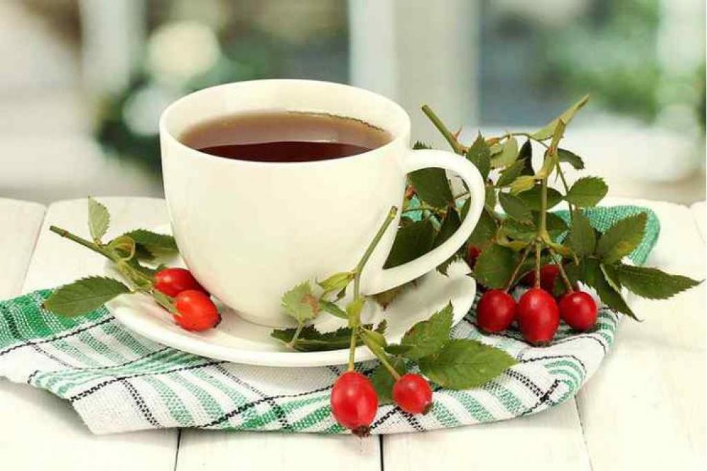 Вятский иван-чай с шиповником