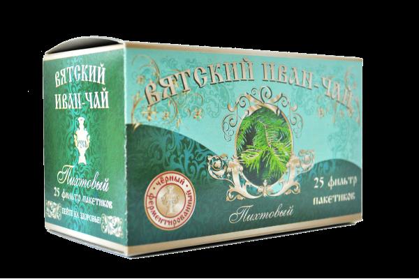 Вятский иван-чай пихтовый в пакетиках, 50 гр.