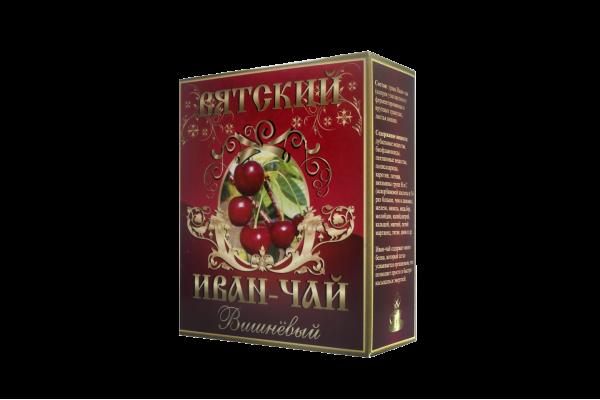Вятский иван-чай «Вишнёвый», 100 гр.