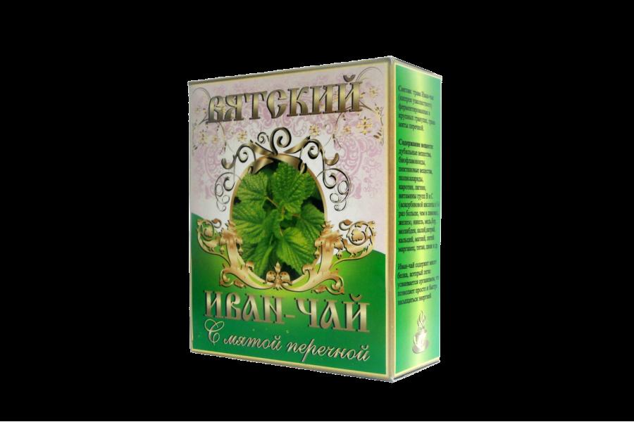 Вятский иван-чай с мятой, 100 гр.