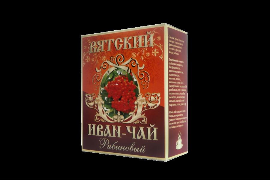 Вятский иван-чай «Рябиновый», 100 гр.